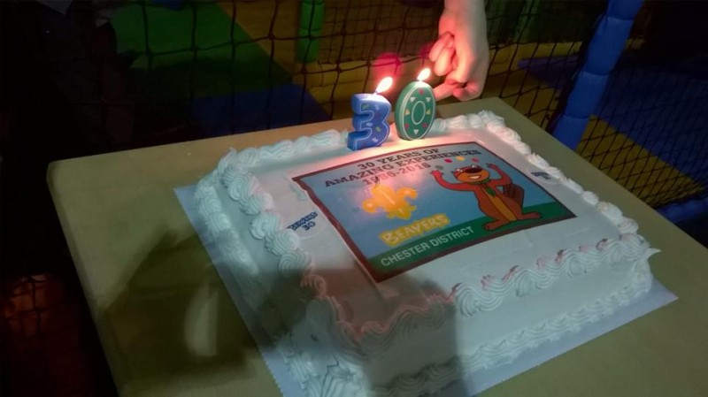Beavers 30th Birthday Party 2016
