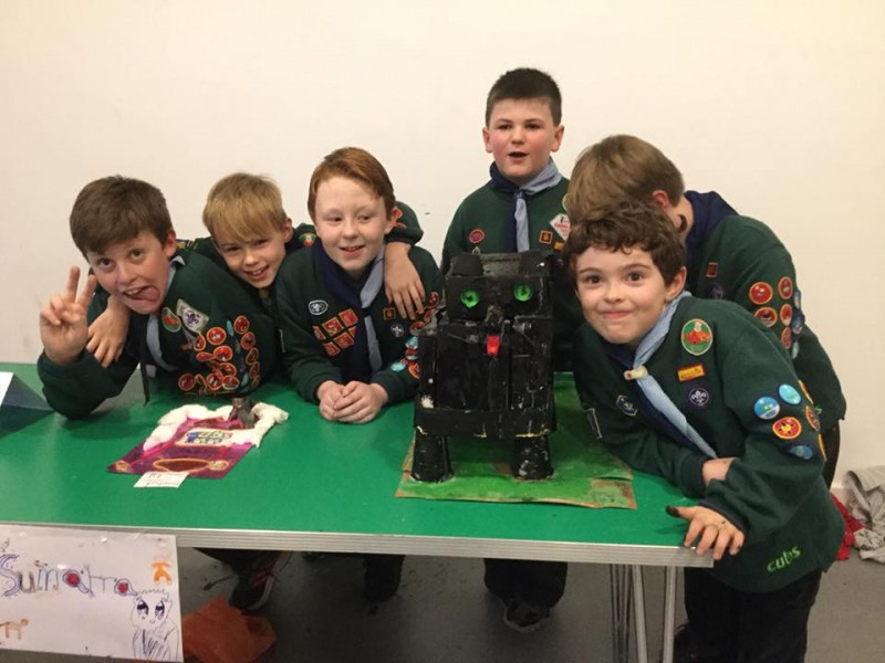 Cub Scout Craft Competition 2016